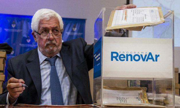 RenovAr 3: el gobierno adjudicó 38 nuevos proyectos de energías renovables por 259 MW y convocó a otros 12 a igualar precio mínimo