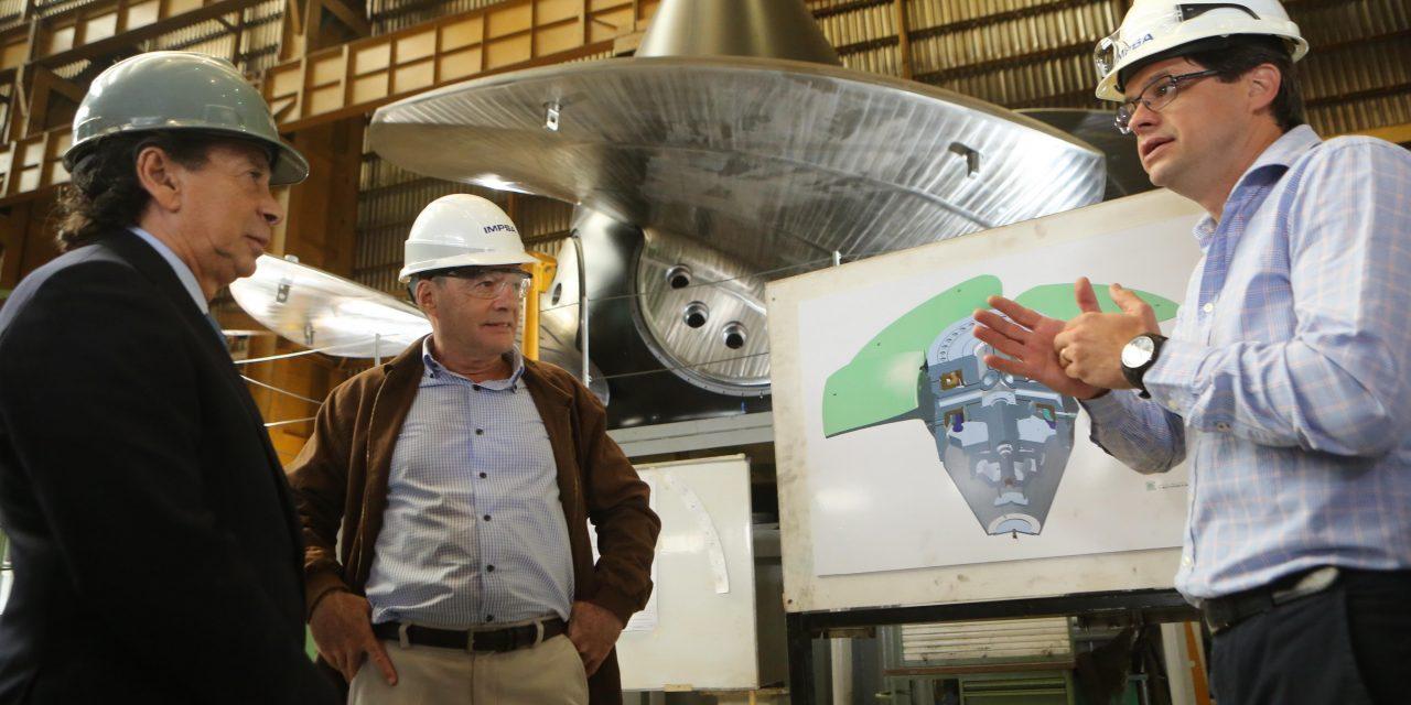El Ministro de Producción y Trabajo de la Nación Argentina visitó las instalaciones de IMPSA