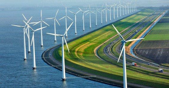 Los diez récords de la energía eólica en el Reino Unido