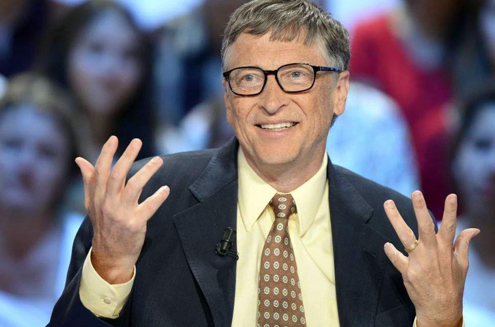 Bill Gates opina que las energías renovables no bastan para paliar el cambio climático