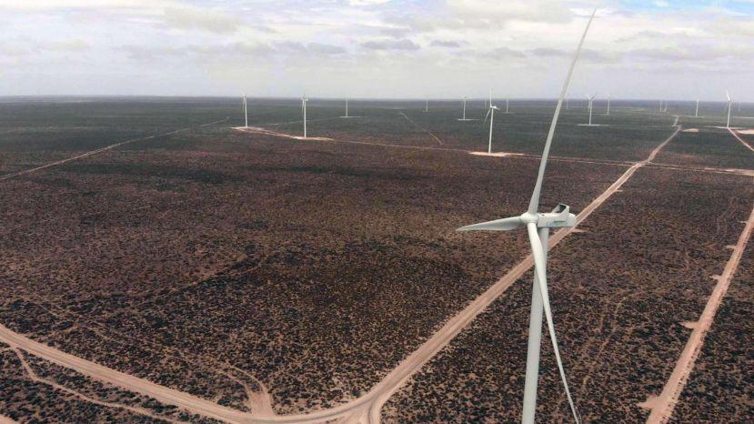 Cómo es el parque eólico Chubut Norte, que inauguró ayer Macri