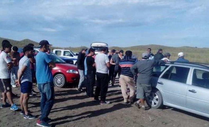 Conflicto gremial: se desarrolló una nueva protesta frente al parque eólico