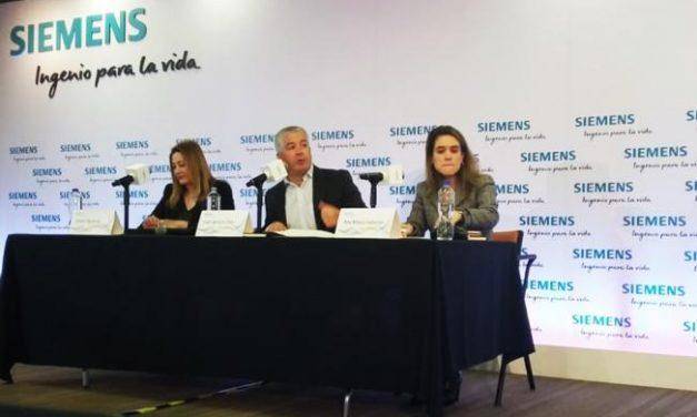 Siemens anuncia inversiones de unos 200 millones de dólares en energía eólica y solar en México