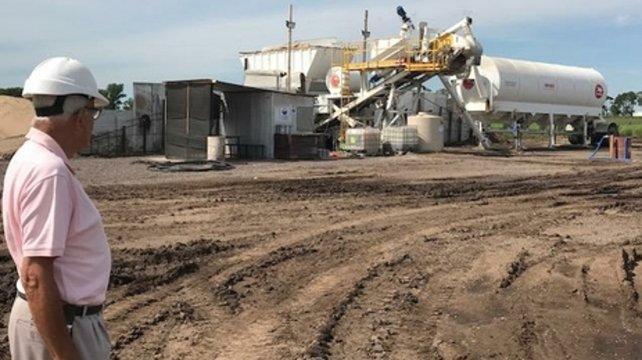 Una millonaria obra permitirá producir biogás en Venado Tuerto
