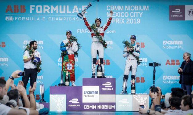 ABB y Fórmula E exhiben el futuro de la movilidad en el E-Prix de la Ciudad de México