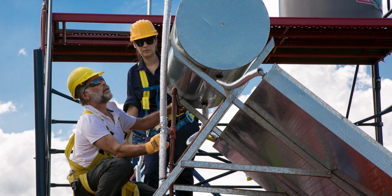 En números, los logros alcanzados en energía solar térmica a lo largo y ancho del país