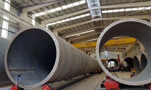 Fabricante de torres eólicas SICA en alerta por la incertidumbre del negocio hacia 2020
