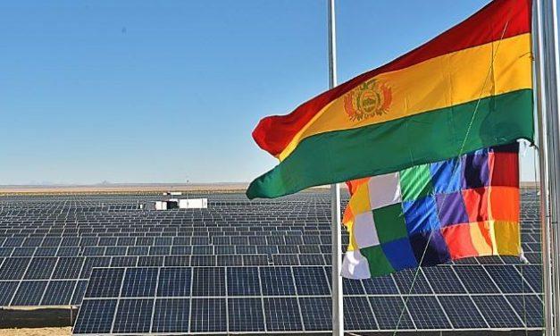 Primero fue el gas, ahora las energías renovables: Bolivia aumenta producción para exportar energía en 2020