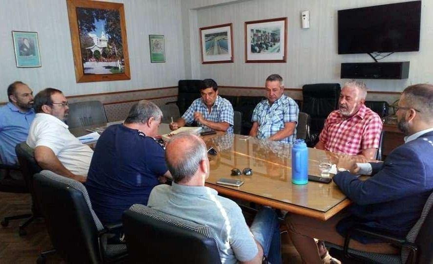 Cooperativa eléctrica de Chubut se reunió con bancos suizos para analizar inversiones en renovables