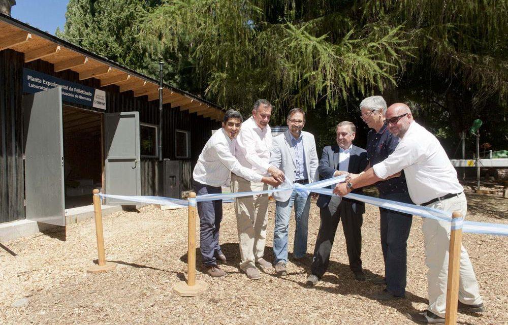 Inauguraron planta de producción de pellets y laboratorio de evaluación de biomasa