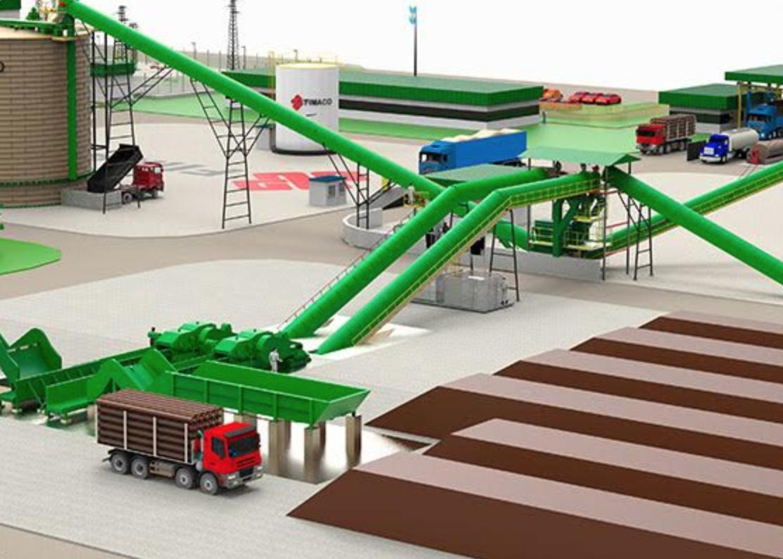 Patios de biomasa