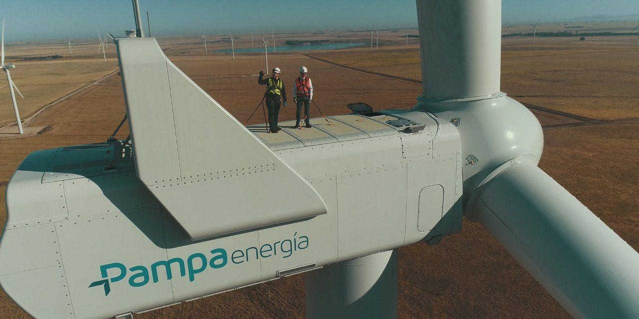 Pampa Energía inauguró su segundo parque eólico en Bahía Blanca