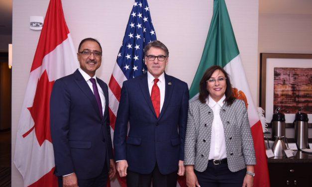 Encuentro estratégico entre potencias: Canadá, México y Estados Unidos debatieron sobre cooperación energética a largo plazo