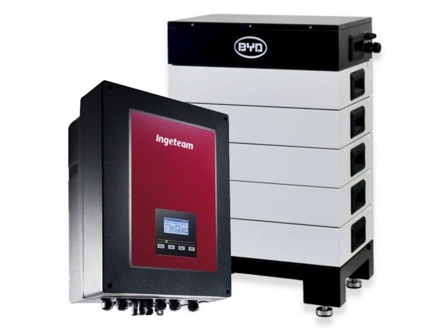 El inversor híbrido de Ingeteam es ahora compatible con la batería de alta tensión de BYD