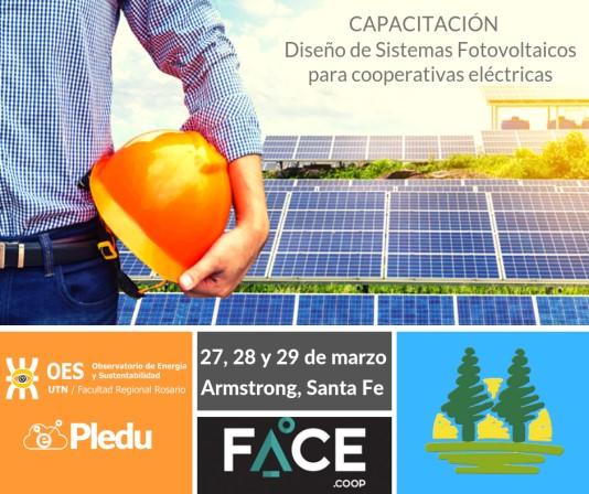 Dictan Capacitación solar fotovoltaica para cooperativas eléctricas