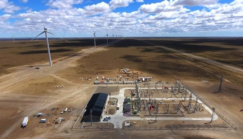Comenzó a generar energía eléctrica el Parque Eólico Bicentenario