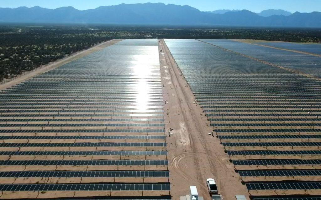 Entraron en operación comercial los parques solares Tinogasta I y II, en Catamarca