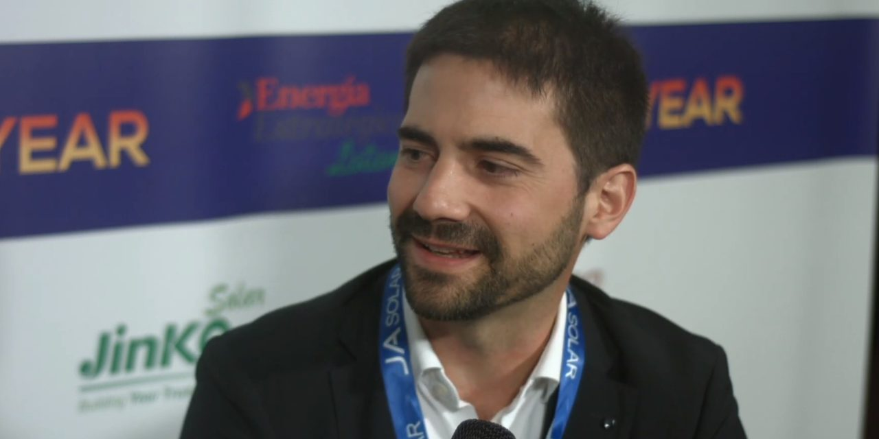 Subastas y generación distribuida: Aitor Ilundain Gómez de Enertis Solar analizó el mercado de las renovables en Chile y la región