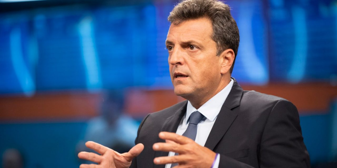 Sergio Massa anticipó la política sobre energías renovables que implementaría si llega a ser presidente de Argentina