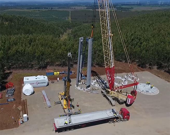 """Marcos Cardaci de Nordex Group: """"Chile es un mercado que puede construir entre 500 y 600 megavatios eólicos por año"""""""