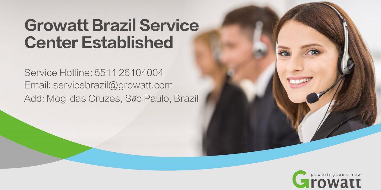 Growatt establece un centro de servicio en Brasil que amplía su presencia global