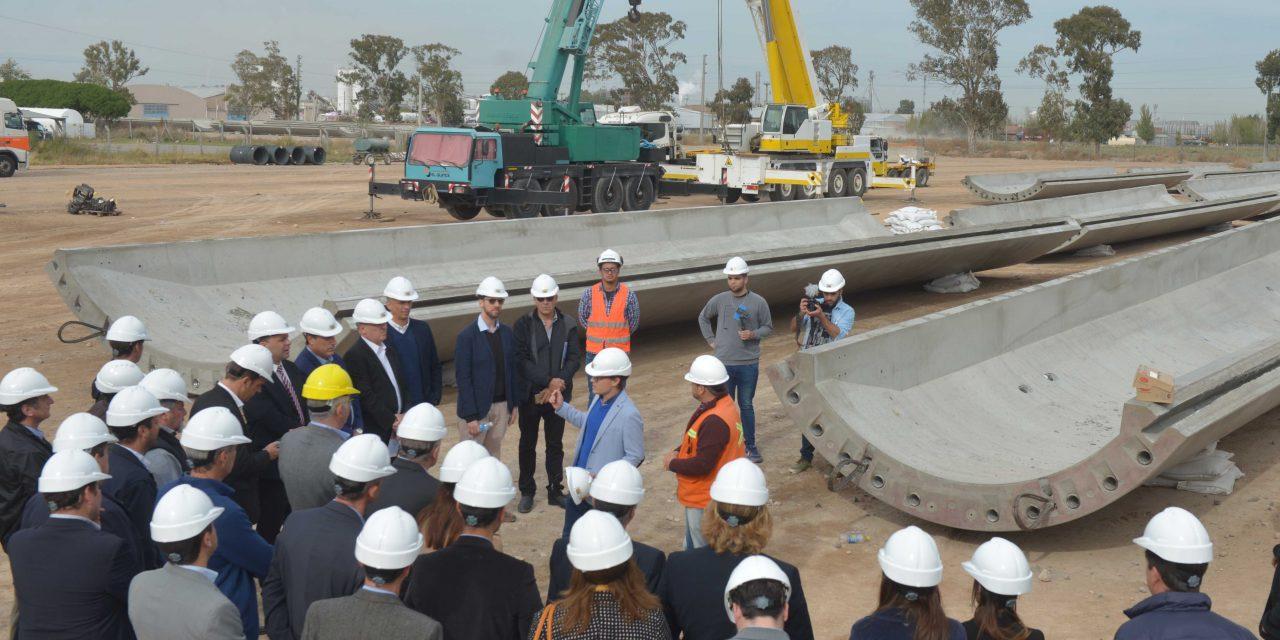 El Grupo Nordex inauguró la planta de torres de hormigón en Bahía Blanca