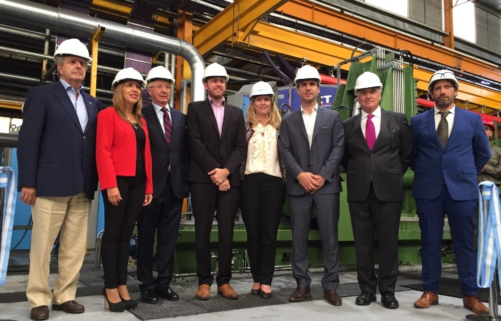 Inversión de U$S 20 millones: Tubos Argentinos inauguró línea de producción para proveer al mercado fotovoltaico