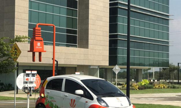 Zonamerica y Celsia profundizan sus lazos comerciales en movilidad eléctrica con una nueva estación de recarga en Cali
