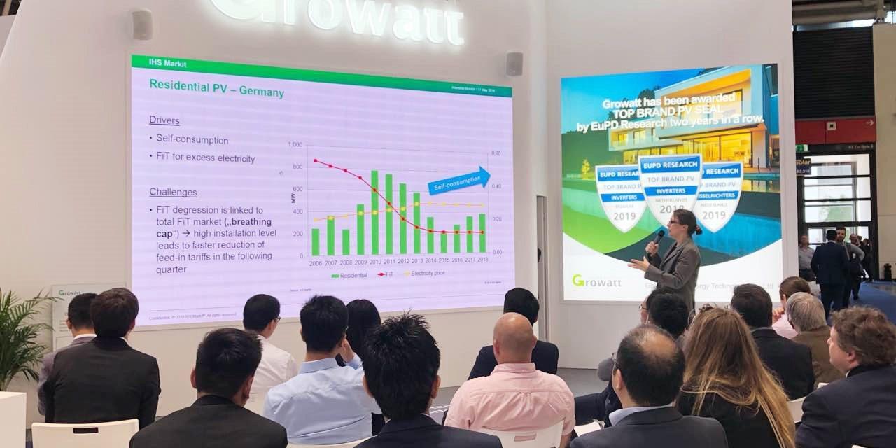 Growatt presenta soluciones fotovoltaicas de próxima generación en medio del creciente sistema solar europeo
