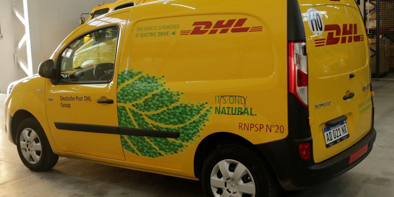 DHL Express comparte su nueva estrategia en Argentina que incluye movilidad eléctrica y energías renovables