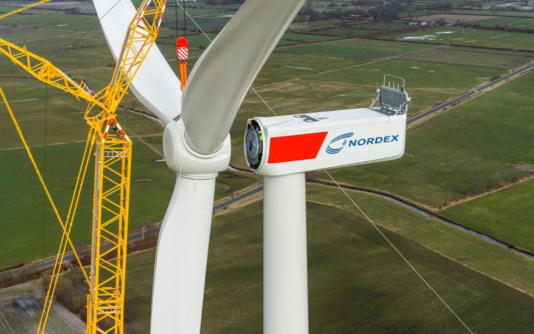 Grupo Nordex cerró un contrato en México para instalar 40 aerogeneradores en un parque eólico