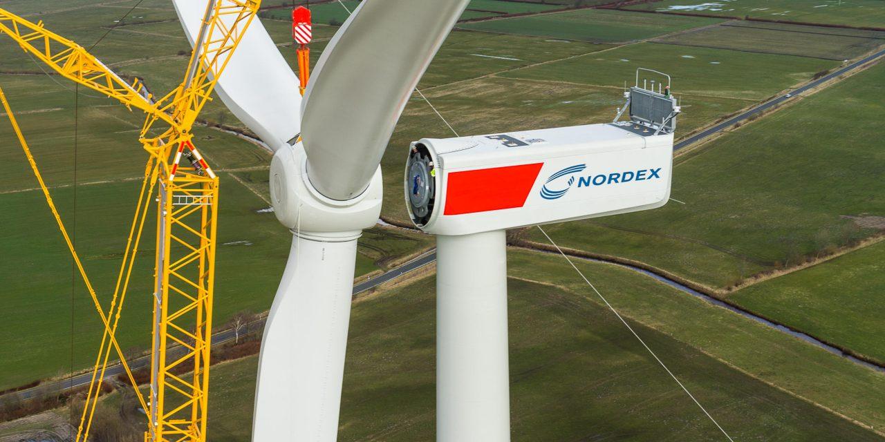 Grupo Nordex mostró todos resultados positivos sobre 2019 con un 30% más de ventas a nivel global