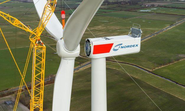 El Grupo Nordex creció en ventas un 30% durante 2019: contratos por 1.616 aerogeneradores que suman 6.207 MW