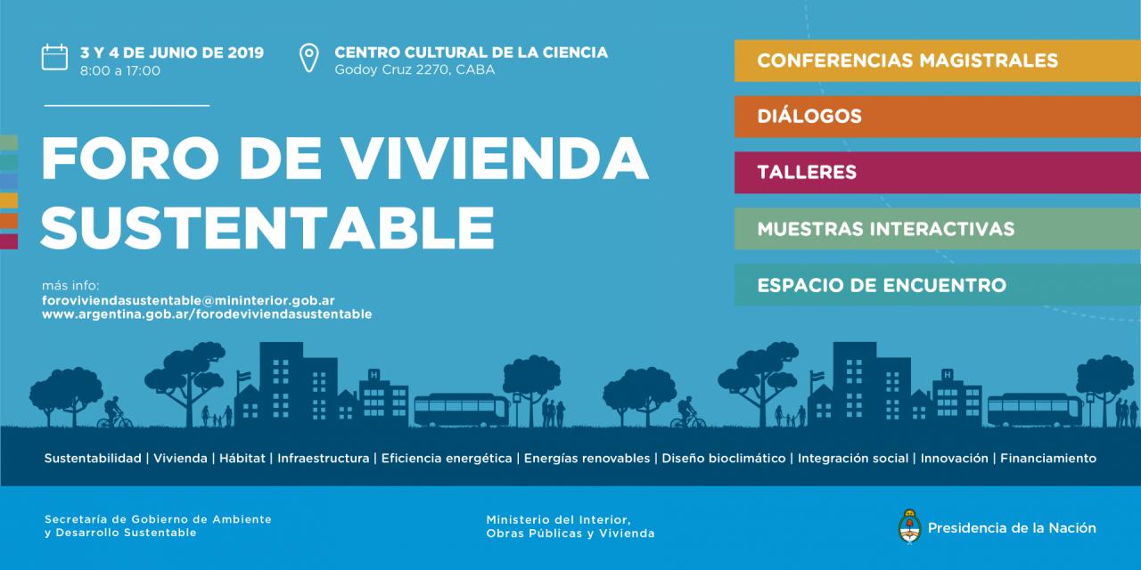 En junio, se realizará un nuevo Foro de Vivienda Sustentable en Buenos Aires