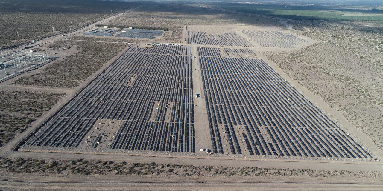 Comenzó a operar el Parque Solar Ullum IV que abastecerá de energía limpia a 13 mil hogares