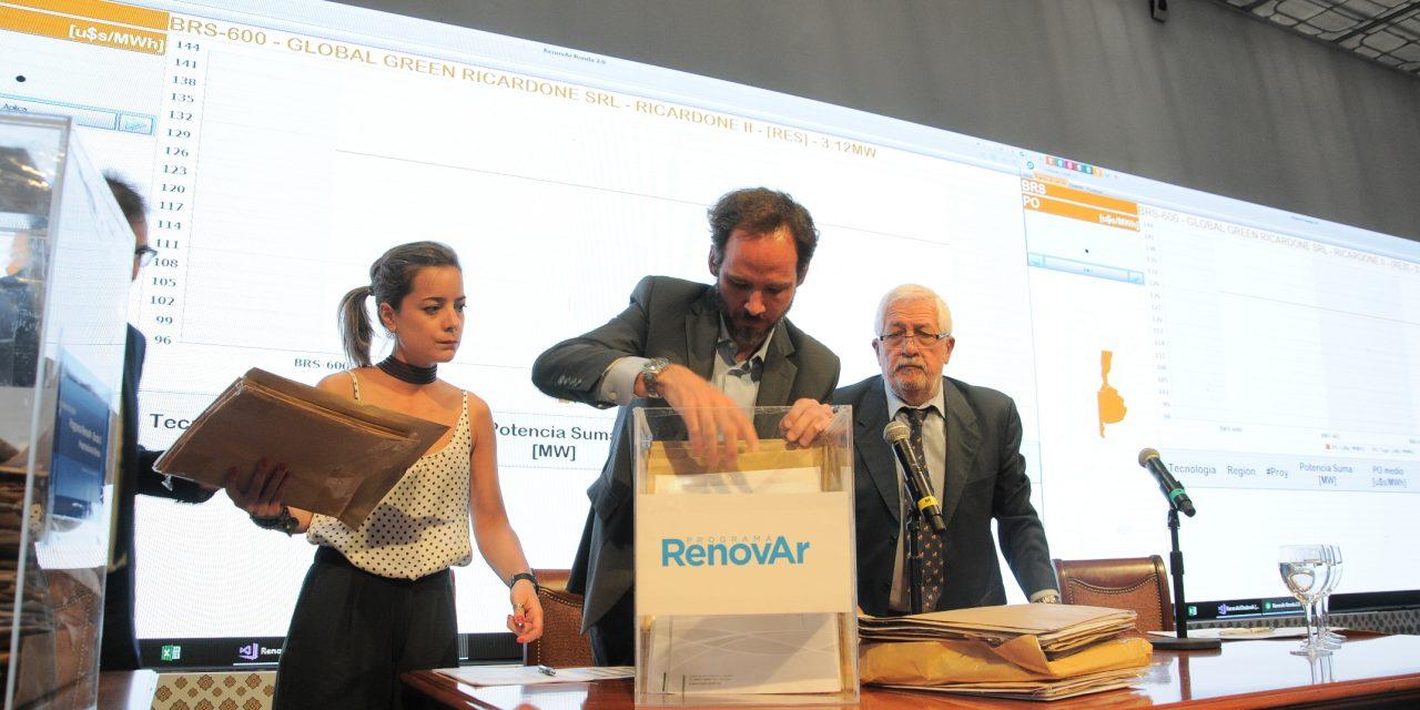 Ronda 3: se postergó la fecha de apertura de sobres de ofertas económicas de la licitación de energías renovables