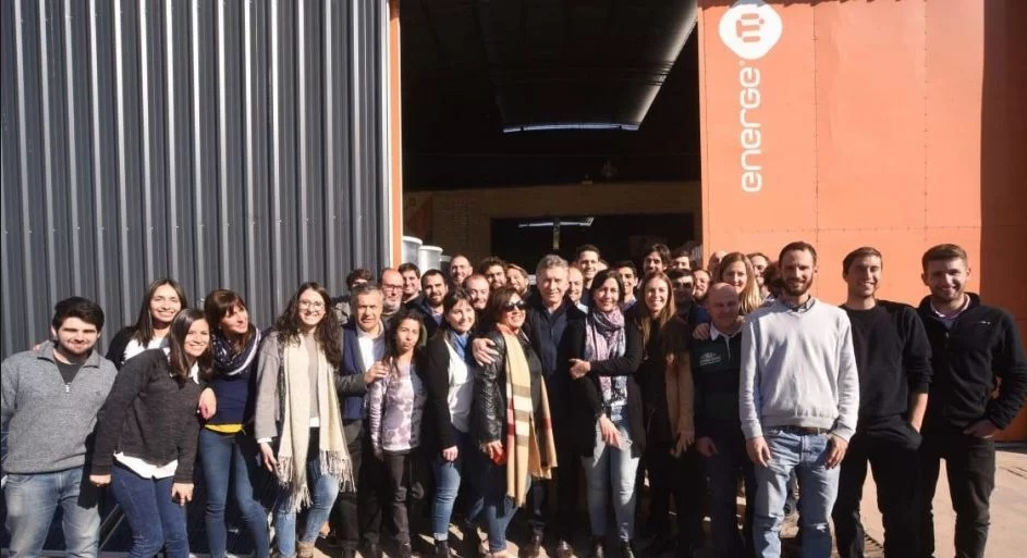 Macri visitó la empresa mendocina que instaló energía solar en la Quinta de Olivos
