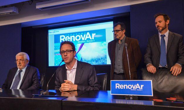 Renovar 3: venció el plazo para que los 12 proyectos calificados no adjudicados manifiesten su mejora de ofertas para celebrar contratos