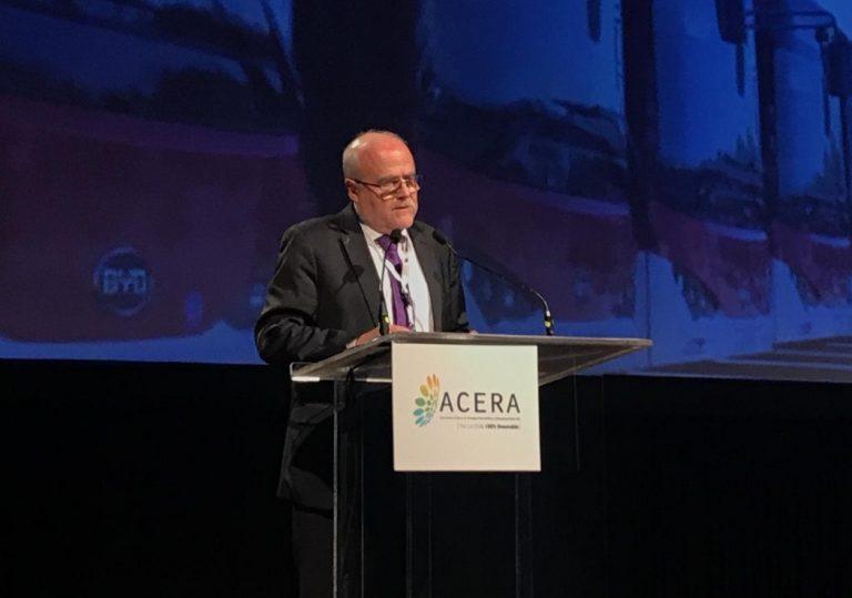 Finat de ACERA: «Un 40% renovables al año 2030 es conservador y nos gustaría una meta más exigente»