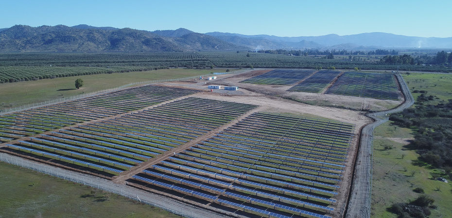 Contrato EPC para «La Huella» en Coquimbo: OHL construirá una planta fotovoltaica de 89 MW en Chile