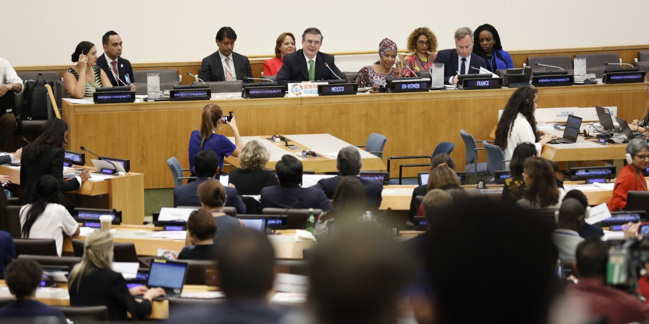 Frente a la ONU, México reafirma sus compromisos para reducir el impacto del cambio climático