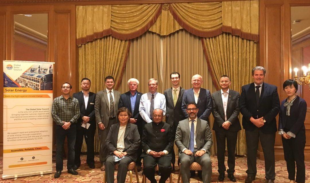 Nueva comisión directiva del Global Solar Council