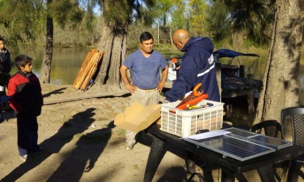 PERMER comenzó la entrega de kits solares en Provincia de Buenos Aires
