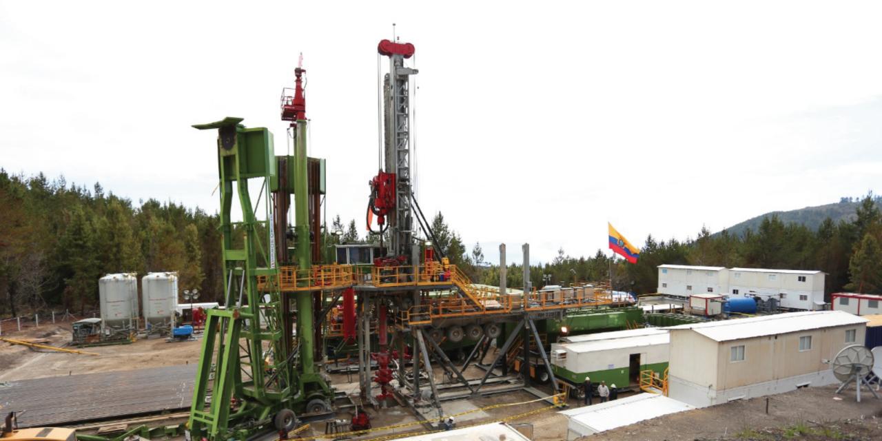 Se perforó el primer pozo para explotar energía geotérmica en Ecuador con financiamiento del Gobierno de Japón
