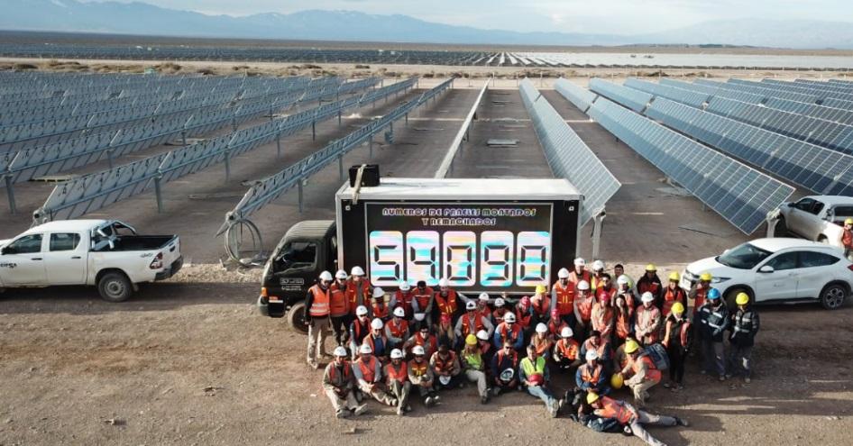 54.090 paneles en un solo día: Una empresa argentina alcanzó el récord mundial de instalación fotovoltaica