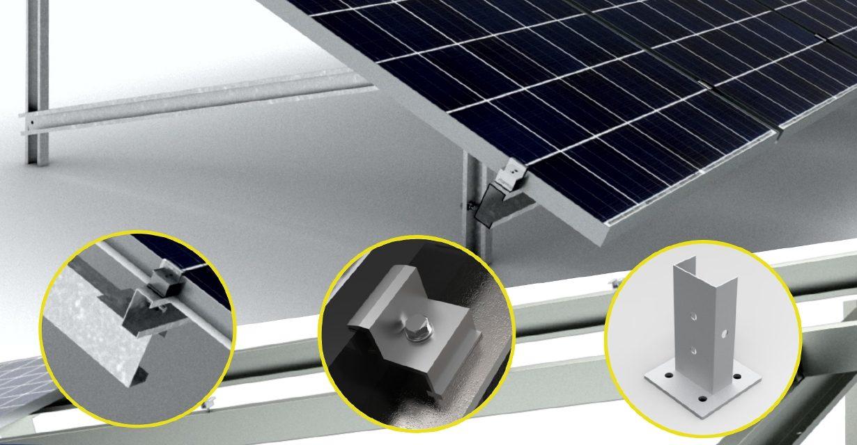 IDERO Solar identifica la elección de soportes fijos como la tendencia más reciente para parques fotovoltaicos