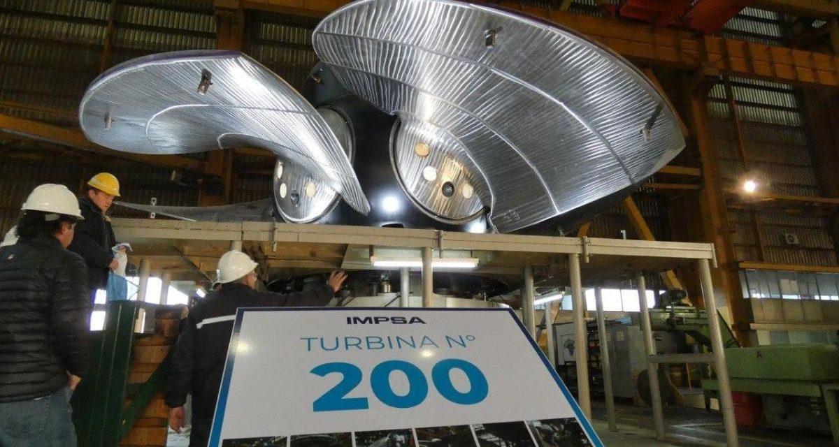 La turbina número 200 de IMPSA irá a parar a Yacyretá