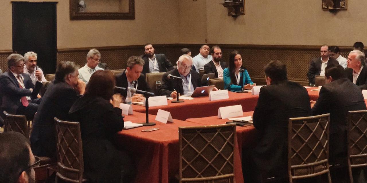 Empresarios de las renovables participaron de la reunión con autoridades para analizar mercado eléctrico en México
