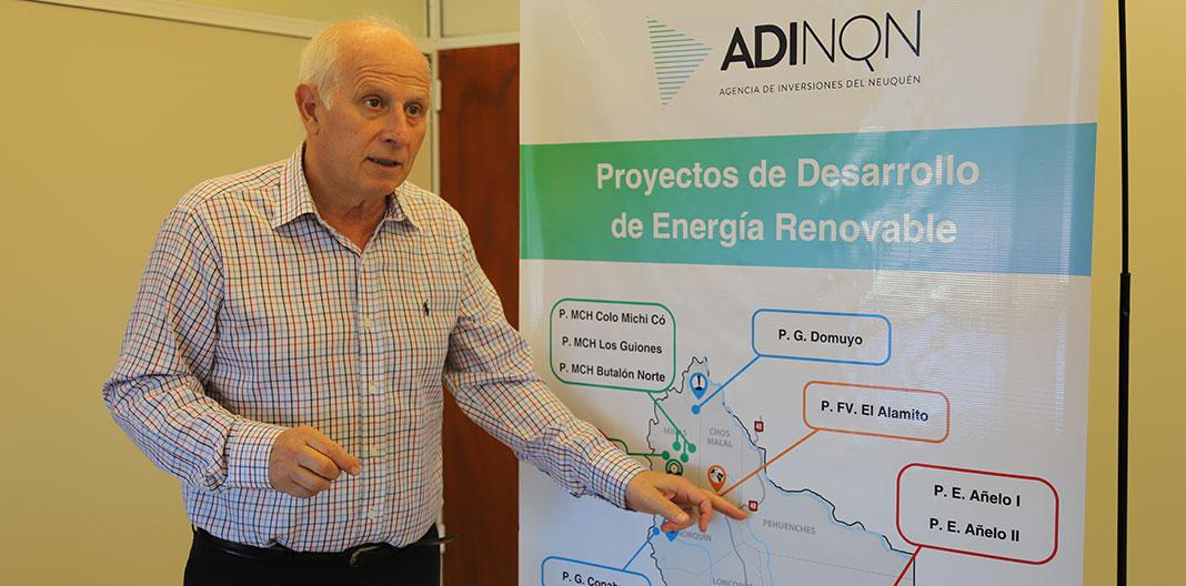 Neuquén confía en avanzar con su carpeta de proyectos de energías renovables por 900 MW durante el 2020