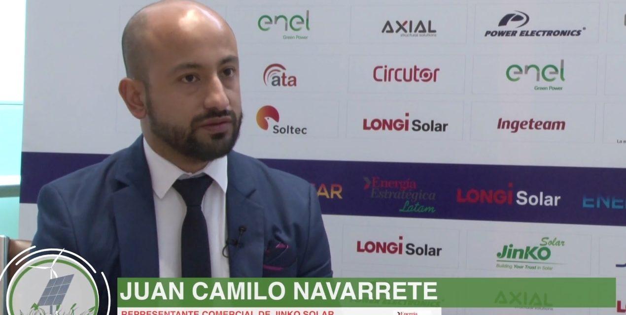 Los planes de Jinko Solar, según sus protagonistas: aspira el 50% del mercado de la generación renovable distribuida en Colombia